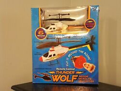 Westminster Thunder Wolf Helicopter Toy 2007 * Orange Trim R C Microlite * NEW $47.99