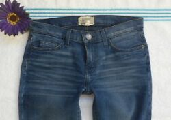 Current Elliot Womens Low Rise Stretch Jeans Skinny Size 26 $24.99