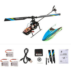 WLtoys V911S 4CH 6G Non Aileron RC Helicopter For Training W 3 Batteries S9V8 $54.59