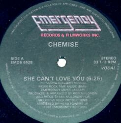 CHEMISE She Can#x27;t Love You 12quot; NEW VINYL Emergency Disco Boogie $13.99