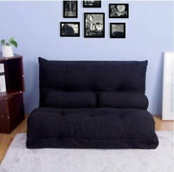 Floor Couch and Sofa Fabric Folding Chaise Lounge Sofa Chair and Futon $230.00