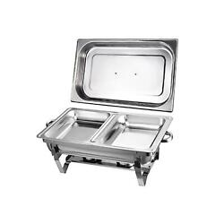 Party Tray Foldable Frame Buffet Chafer Set food tray warmer set $89.98