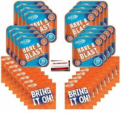 Nerf Party Birthday Supplies Bundle Pack for 16 Guests Plus Party Planning C... $13.25