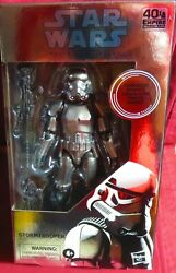 2020 HASBRO quot;STAR WARSquot; BLACK SERIES CARBONIZED GRAPHITE STORMTROOPER IN $24.99