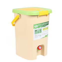 21L Recycle Composter Aerated Compost Bin Bokashi Bucket Kitchen Food Waste $52.09