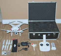 DJI Phantom 3 Standard Quadcopter Camera Drone HARD SHELL CASE AND ACCESSORIES $199.99