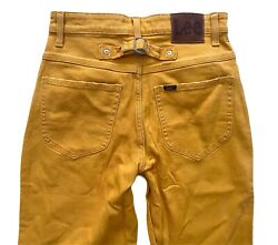 Lee Vintage Modern High Rise Stovepipe Buckle Back Relaxed Gold Jeans 3536688 $44.99