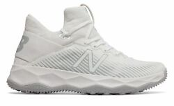 New Balance Men#x27;s FreezeLX 2.0 Turf Lacrosse Shoes White with Silver $39.99