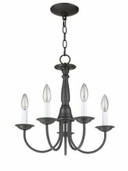 Livex Lighting 6030 07 Home Basics 5 Light Chandelier Bronze Finish $119.90