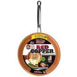 Red Copper Pan $19.99