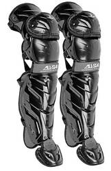 All Star Youth System Seven Axis Catcher#x27;s Leg Guards Ages 12 16 New $134.95