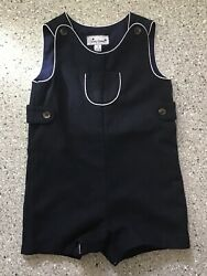 Busy Bees Classic Boys' Dress Navy Wool Jack Shortall w White Piping NWOT Sz 3 $8.00