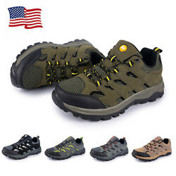 Men#x27;s Hiking Mountain Outdoor Trail Trekking Breathable Climbing Shoes Sneakers $35.19
