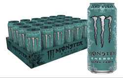 MONSTER ENERGY EERGY DRINK – ZERO ULTRA ULTRA PARTY 16 FL OZ PACK OF 24 $34.99
