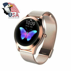 Smart Watch IP68 Waterproof Heart Rate Bluetooth Women Lady Gift For Android iOS $39.99