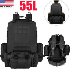 Large Military Tactical Backpack Camping Trekking Hiking Outdoor Sport Travel Ba $34.19