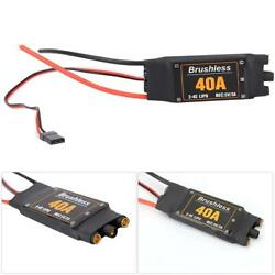RC ESC Ultra Low Mosfet Resistance Highly Intelligent ESC Durable Strong Flow $13.49