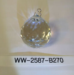 NEW 40mm Clear Crystal Chandelier Ball by Asfour for Weddings Suncatcher Lamps $7.50