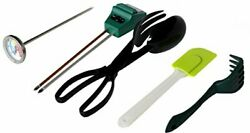 Worm Farm Accessory Kit for Red Wiggler Composting Bins Moisture Meter Thermo... $40.94