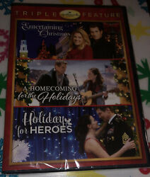 HALLMARK HOLIDAY COLLECTION DVD Triple Feature Holiday For Heroes $19.40