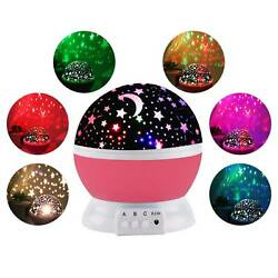 360° LED USB Star Light Sleep Romantic Starry Night Sky Projector Cosmos Lamp $9.99