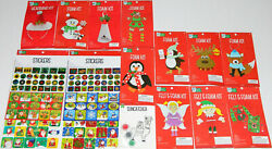 Bright Minds by Nicole Lot Christmas Crafts Foam Kits Magnets Ornaments Stickers $31.49