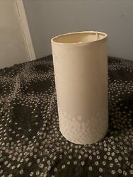 "11"" Tall 6"" Wide Beige Modern Contemporary Lamp Shade $16.00"