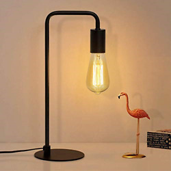 Industrial Table Lamp Edison Desk Lamp Small Lamps for Bedroom Office Dorm $27.21
