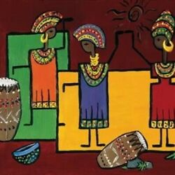 Colorful Africa Ii Rolled Canvas Art Hedy 8 X 10 $29.93