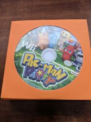 Pac Man Party for the Nintendo Wii POLISHED DISC ONLY FREE SHIPPING $10.99