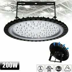 2Pack Waterproof UFO LED High Bay Light Commercial Light for Garage Workshop Gym