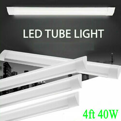LED Shop Light Garage Fixture Ceiling Lamp LED Batten Tube Light 4FT 40W White $18.56