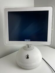 Apple iMac PowerPC G4 15quot; All In One M6498 700 MHz 256Mb Ram No Keyboard Mouse $139.95