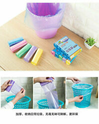 Household 5 Roll Small Garbage Bag Durable Disposable Plastic Kitchen Tools $4.69