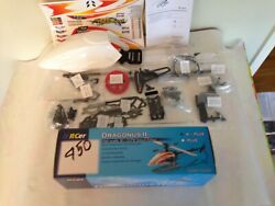 RCer Dragonus II Plus NEW 450 Remote Control RC Helicopter kit $95.00