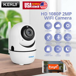 1080P HD 2MP WIFI IP Outdoor Camera Smart Home Security $37.49