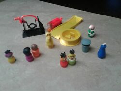 Vintage Fisher Price Little People Sesame Street Clubhouse PICK ONE FREE SHIP $10.59