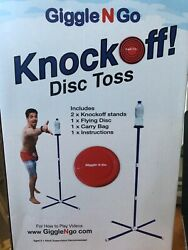 GIGGLE N GO Knock Off Toss Outdoor Games Yard Games for Kids and Family NEW $29.95