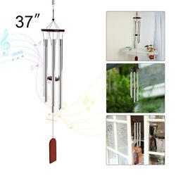 37#x27;#x27; Wind Chimes 6Tubes Outdoor Large Deep Tone for Garden Patio Balcony Decor $7.99
