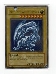 *** BLUE EYES WHITE DRAGON *** ULTRA SDK 001 HEAVILY PLAYED CONDITION YUGIOH $9.99