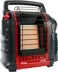 Indoor Safe Portable Propane Radiant Heater Red Black Free Ship $68.30