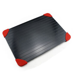 Fast Metal Thawing Plate Defrosting Tray Frozen Food meat Defrost Kitchen Kit BD $15.90