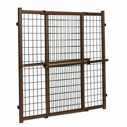 Evenflo 6624310 Position and Lock Tall Wooden Gate Farmhouse Collection $24.99