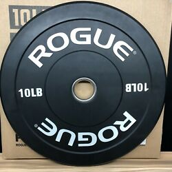 Lightly Used 2 10lb Rogue Echo V2 Bumper Plates Set 20lbs Total *Ships Now* $99.99