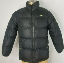 Pacific Trail Black Down Puffer Coat Youth Boys Girls XL 18 20 Winter Jacket $23.95