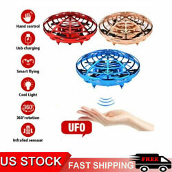 360° Mini Drone Smart UFO Aircraft for Kids Flying Toys RC Hand Control Xmas $14.89