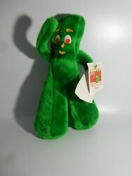Vintage GUMBY Plush Toy Green Stuffed Animal Ace Novelty 13quot; NWT $22.95