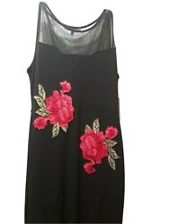 Womens maxi dresses size Large $10.00