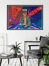 Juice WRLD Juice World Poster Juice Wrld Wall Art Wall Art Decor No Frame $18.99