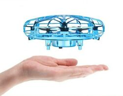 Mini Drone Helicopter UFO Aircraft Hand Sensing Infrared Induction Toy Children EUR 28.49
